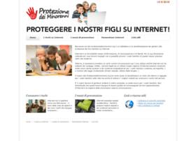 protezionedeiminorenni.org
