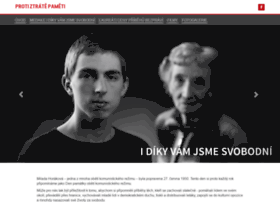 protiztratepameti.cz