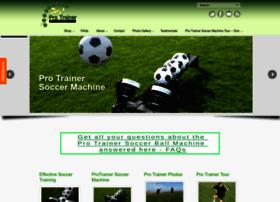 protrainersoccer.com