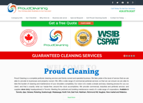 proudcleaning.com