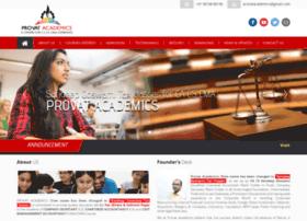 Provatacademics.com