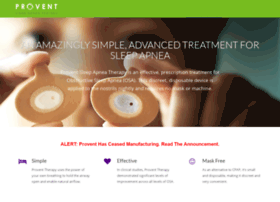 proventtherapy.com