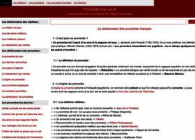 proverbes-francais.fr