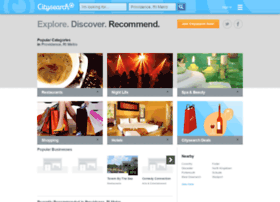 providence.citysearch.com