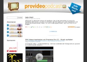 provideo-podcast.de