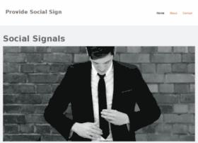 providesocialsignals.jimdo.com