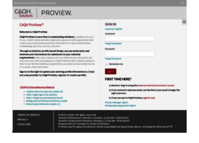 proview.caqh.org
