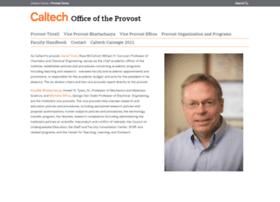 provost.caltech.edu