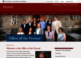 provost.cua.edu