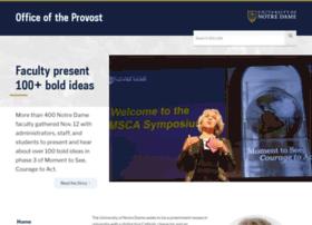 provost.nd.edu