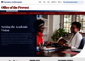 provost.richmond.edu