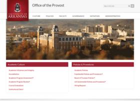 provost.uark.edu