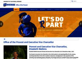 provost.ucr.edu