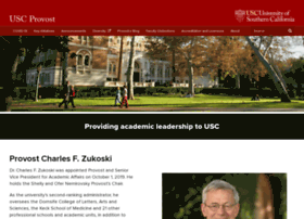 provost.usc.edu