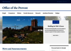 provost.yale.edu