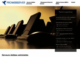 prowebserver.fr