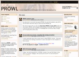 prowl.coloradocollege.edu
