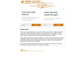 proxy-list.net
