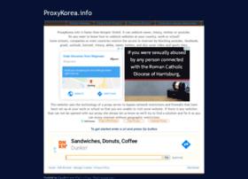 proxykorea.info