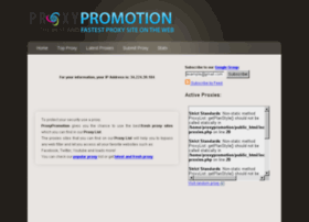 proxypromotion.com