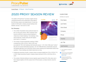 Proxypulse.broadridge.com