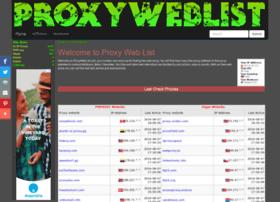 proxyweblist.com