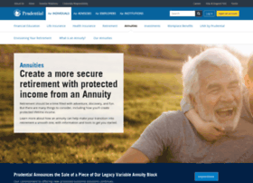 prudentialannuities.com