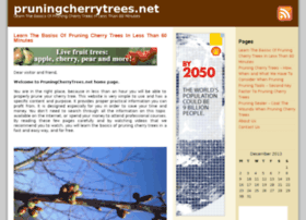 pruningcherrytrees.net