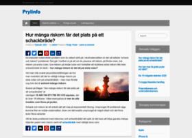 prylinfo.se