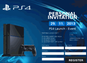ps4launch.sonyplaystation.ch