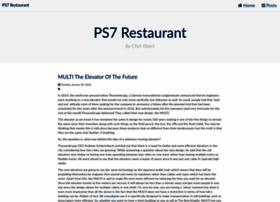 ps7restaurant.com