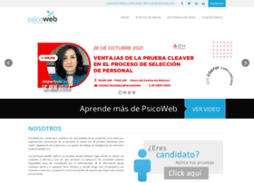 psicowebchile.com