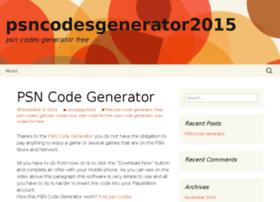 psncodesgenerator2015.wordpress.com