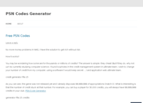 psncodesgeneratornow.wordpress.com