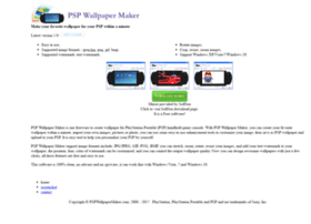 pspwallpapermaker.com