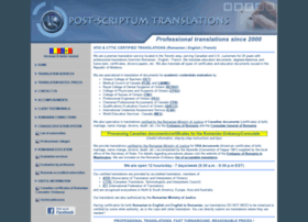 pstranslations.ca