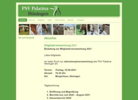 psv-palatina-hoeningen.de