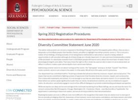 psyc.uark.edu