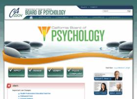 psychboard.ca.gov
