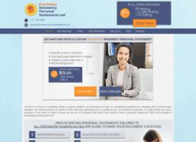 psychiatry.residencypersonalstatements.net
