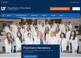 psychiatry.ufl.edu