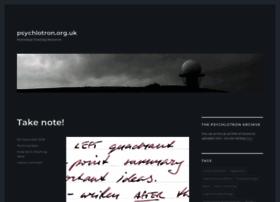 psychlotron.org.uk