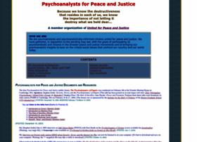 psychoanalystsopposewar.org