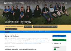 psychology.csusb.edu
