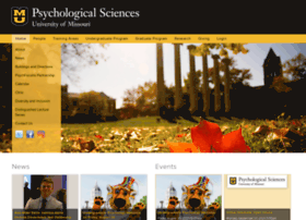 psychology.missouri.edu