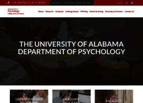 psychology.ua.edu