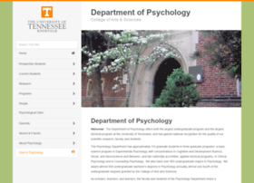 psychology.utk.edu