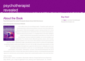 psychotherapistrevealed.com