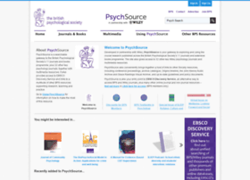 psychsource.bps.org.uk