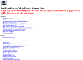 Psychstat.missouristate.edu